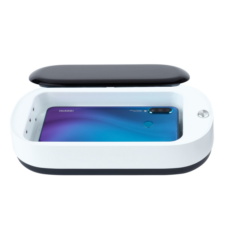 UV Disinfection Box + Wireless Charger