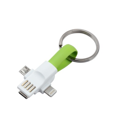 USB Charger Keychain