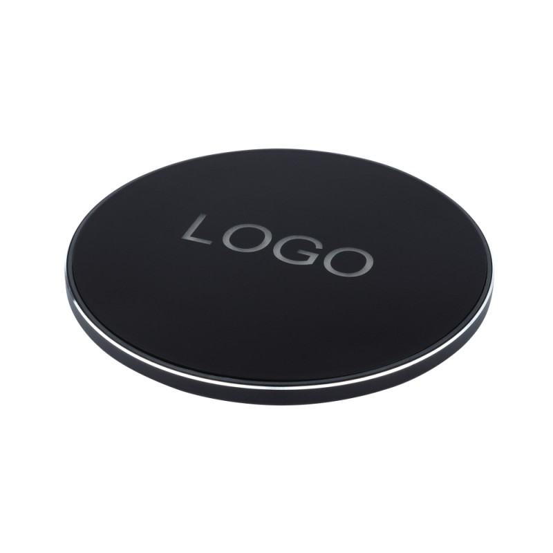 Wireless Charger with LED Logo